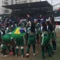 Seleção Feminina Sub 15, sagra-se BI-campeã do II Sul-americano de softbol U15 - Lima - Peru