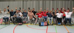 Wheelchair softball teams