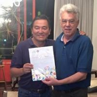 Paulo Tanaka será homenageado no 61ª Prêmio Paulista do Esporte 2017