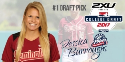 Jessica Burroughs, da Florida State University, é a primeira escolha do Draft da NPF
