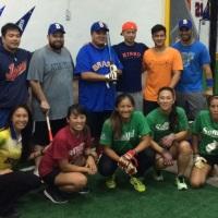 Seleção Feminina e Masculina de Softbol treinam na Arena Beisebol