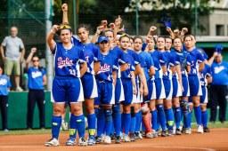 Seleção italiana é considerada a maior potência do softbol europeu