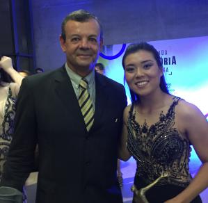 Fernanda Ayumi Shiroma Prêmio Brasil Olímpico