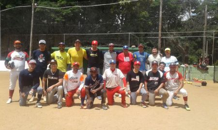 Atletas participantes da seletiva para seleção