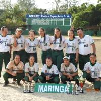Maringá fatura XVI Taça Brasil de Softbol Sub17