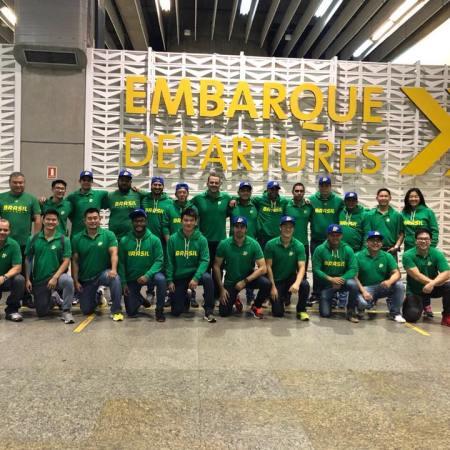 Embarque Seleção Masculina embarca rumo ao Campeonato Sul-americano