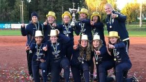 Skövde Saints fatura 9º título sueco de softbol