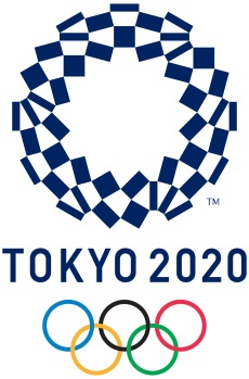 Logo jogos Olímpicos Tóquio 2020