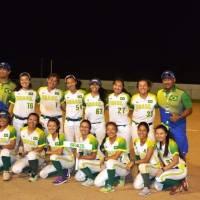 Atletas pré-convocadas para classificatória de softbol Tóquio 2020