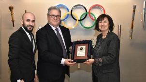 WBSC visita Comitê Olímpico da Turquia