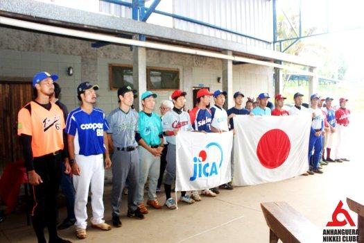 JICA voluntarios bandeira