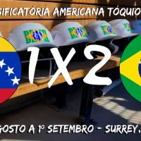 Brasil bate Venezuela e segue Invicto na Classificatória para Tóquio 2020
