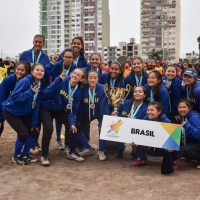 Brasil é vice-campeão do V Campeonato Sul-americano Sub15