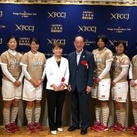 Evento marca encontro entre mídia internacional e a Seleção japonesa