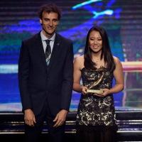 Mayra Sayumi Akamine recebe Prêmio Brasil Olímpico