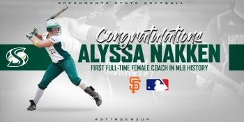 Alyssa Nakken na MLB