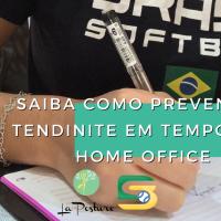[Coluna] Saiba como prevenir a tendinite em tempos de Home Office