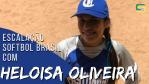 Escalação Softbol Brasil - Heloisa Oliveira